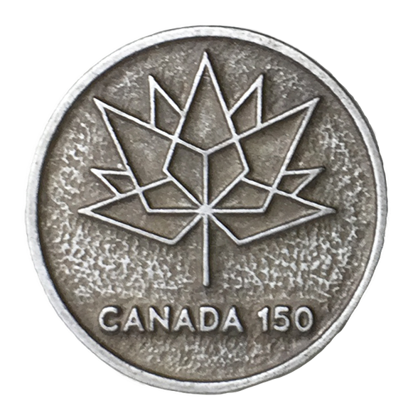 Canada 150 Pewter Pin