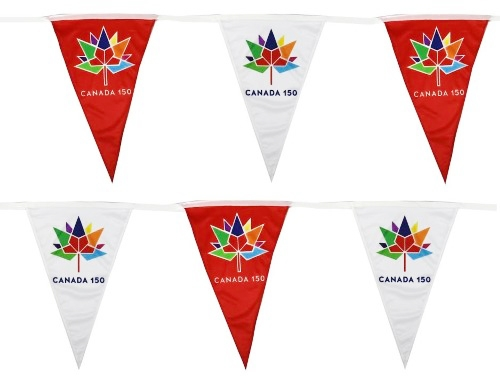 Canada 150 Flags