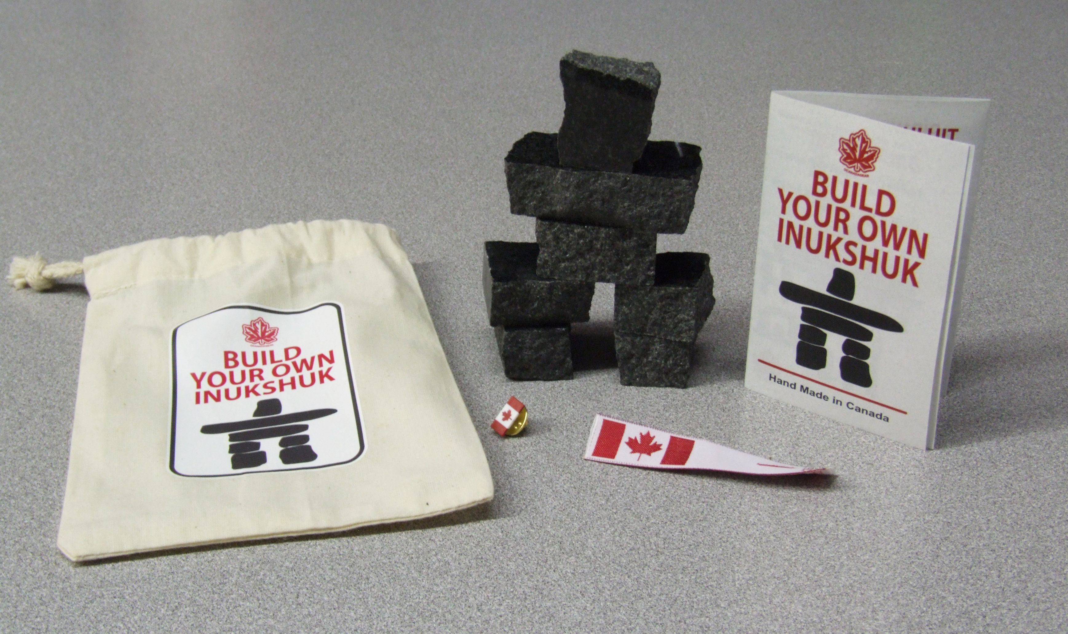Build your own Canada Inukshuk