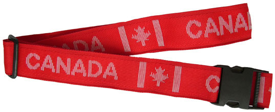 Canada Nylon Suitcase Strap with plastic snap buckle