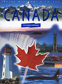 Canada color photos book