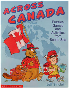 Across Canada book for kids