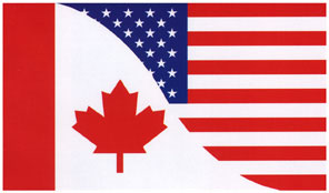 Canada/US Friendship Bumper Sticker