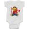 Canada Mountie Bear Baby Jumper