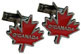 O'Canada Maple Leaf Cuff Links