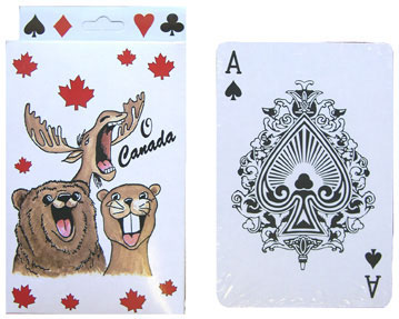 O Canada Jumbo Playing Cards