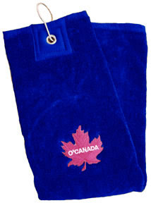 O'Canada Golf Towel (blue)