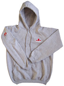 Canada Pull-over Hoodie (grey)