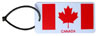Canada Flag Luggage Tag (plastic)