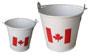 Canada Metal Pail with handle (2 sizes)