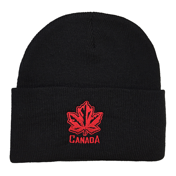 Canada Maple Leaf Toque with rim