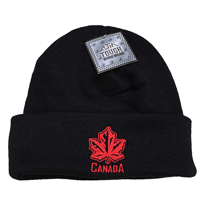 Premium Canada Maple Leaf Toque with rim