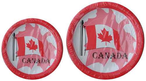 Canada Paper Plates (2 sizes)