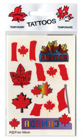 Canada Tattoos (9-pack)