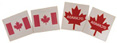 O'Canada Tattoos (4-pack)