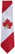 Canada Maple Leaf Necktie