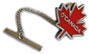 O'Canada Maple Leaf Tie Clip