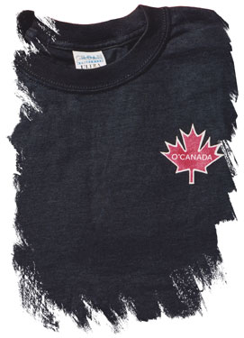 O'Canada Rant T-shirt (left-chest logo)